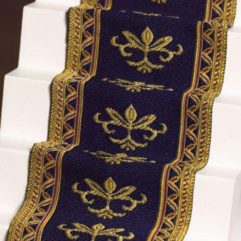 Navy Stair Carpet 500 x 50mm