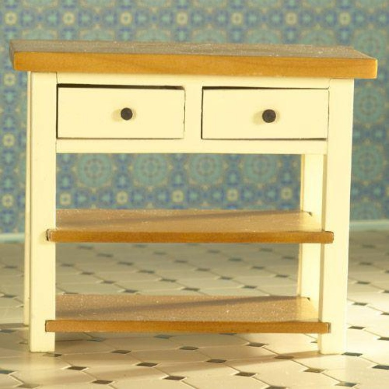 Cream Shaker-style Table