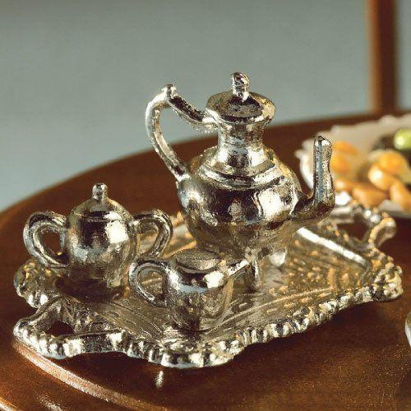 Metal Tea Set, 4 pcs