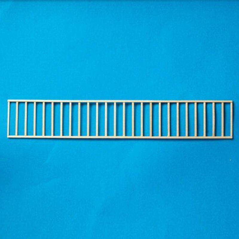 Simple Wooden Railing Assembly 75 x 445mm