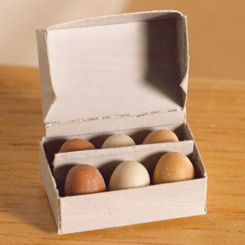Box of Six Fresh Eggs
