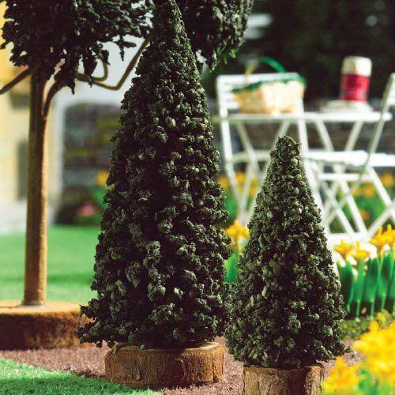 Evergreen Trees, 2 pcs 100mm