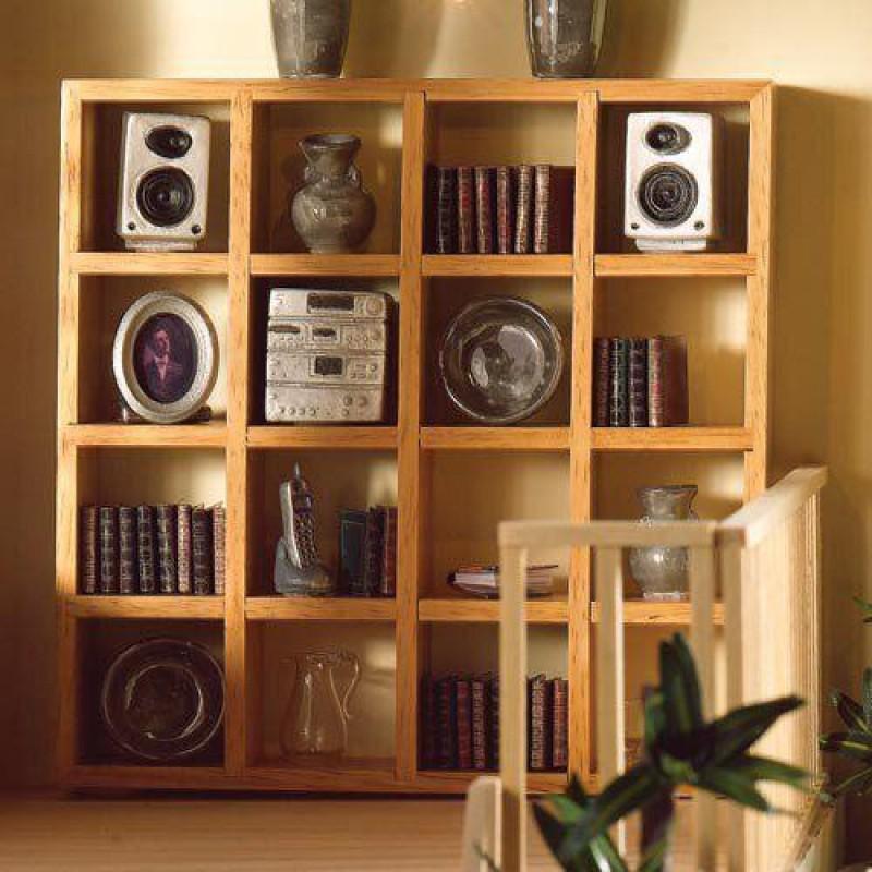 Lightwood Display Shelves
