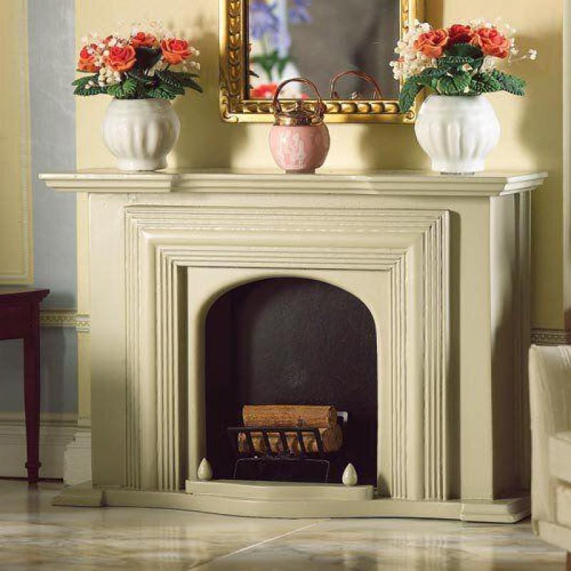 Grey Georgian Fireplace