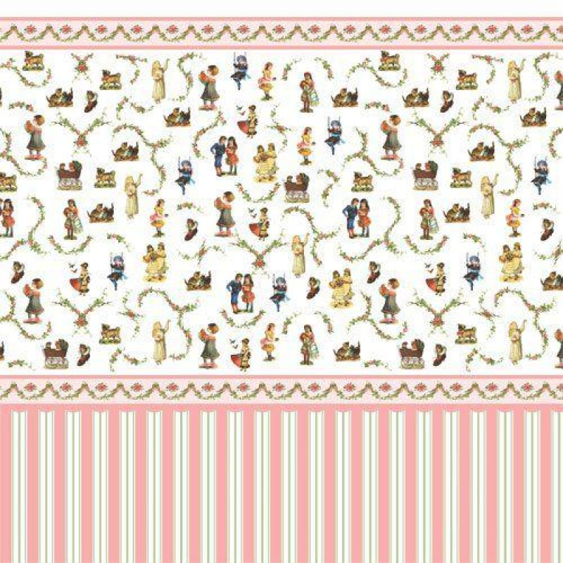 Victorian Nursery Wallpaper 430 x 600mm