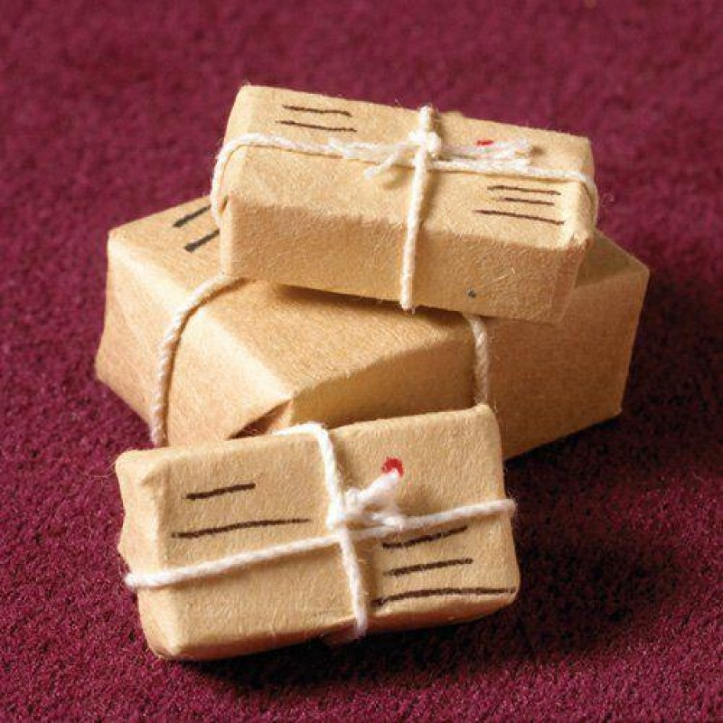 Three Parcels & Letters