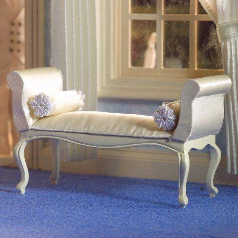 George III Cream Window Seat