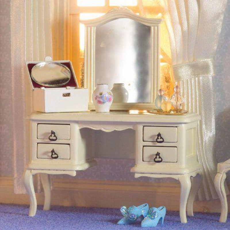 French-style Cream Dressing Table