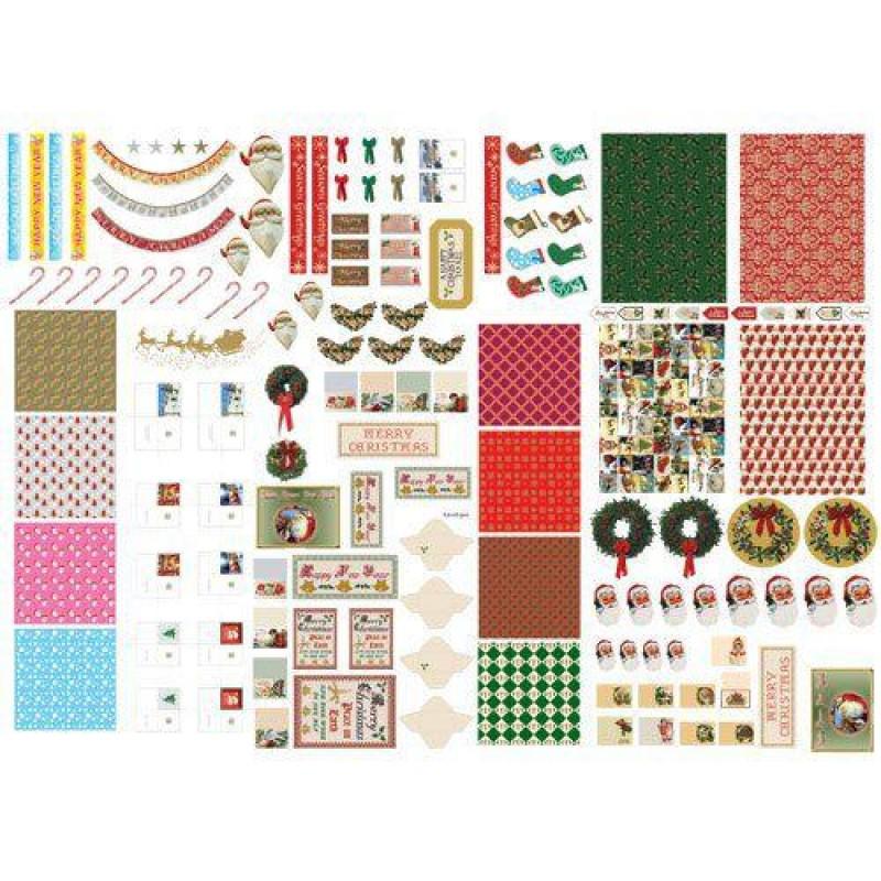 Christmas Cut-out Sheet 430 x 600mm