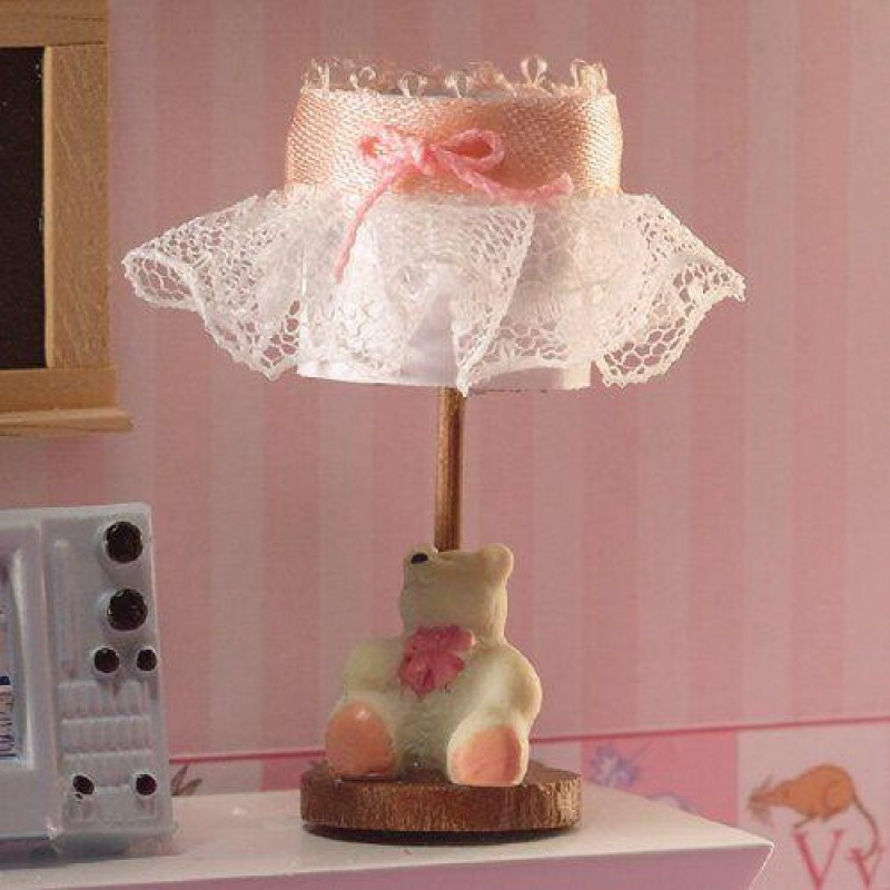 Childrens Bedside Lamp with Bear