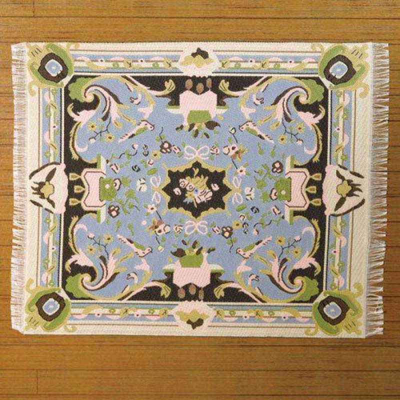 French Aubusson Woven Carpet