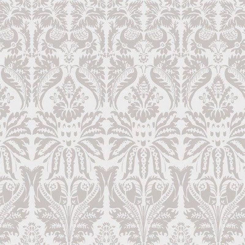 Metallic Damask-style Wallpaper 430 x 600mm