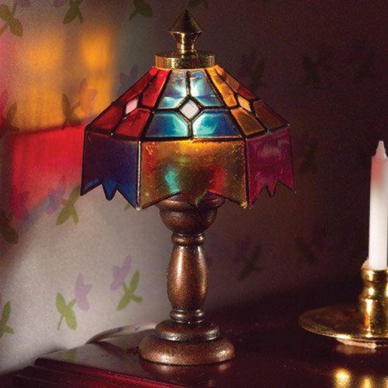 Coloured Tiffany Lamp 45 x 30mm