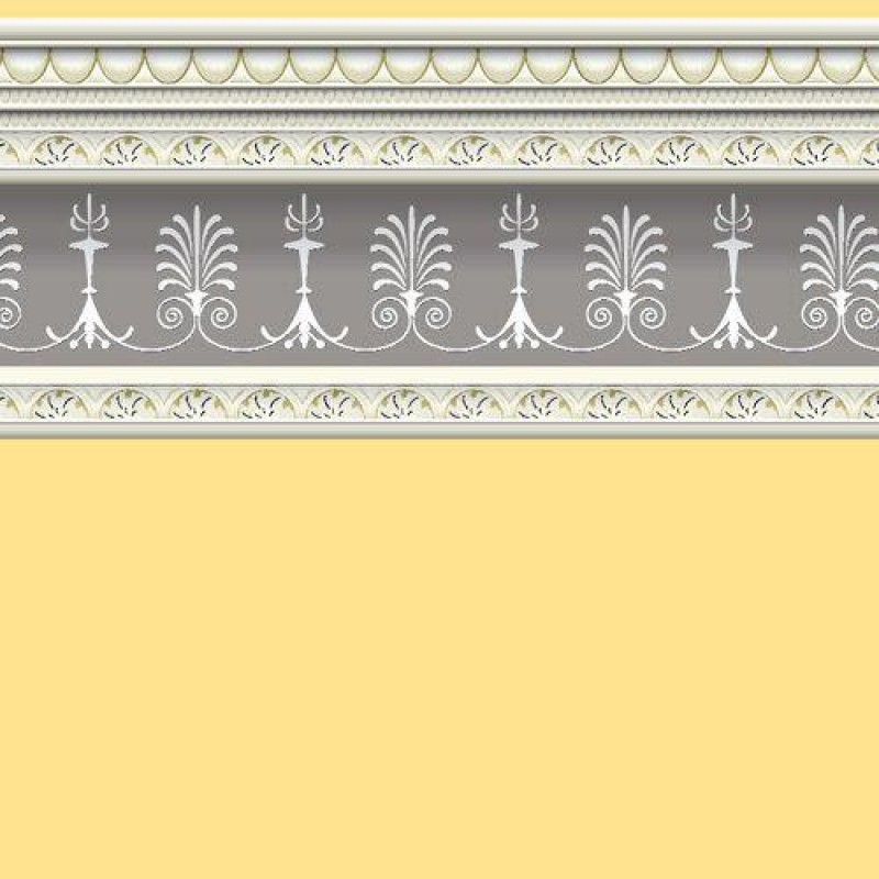 Soft Yellow Wallpaper 430 x 600mm