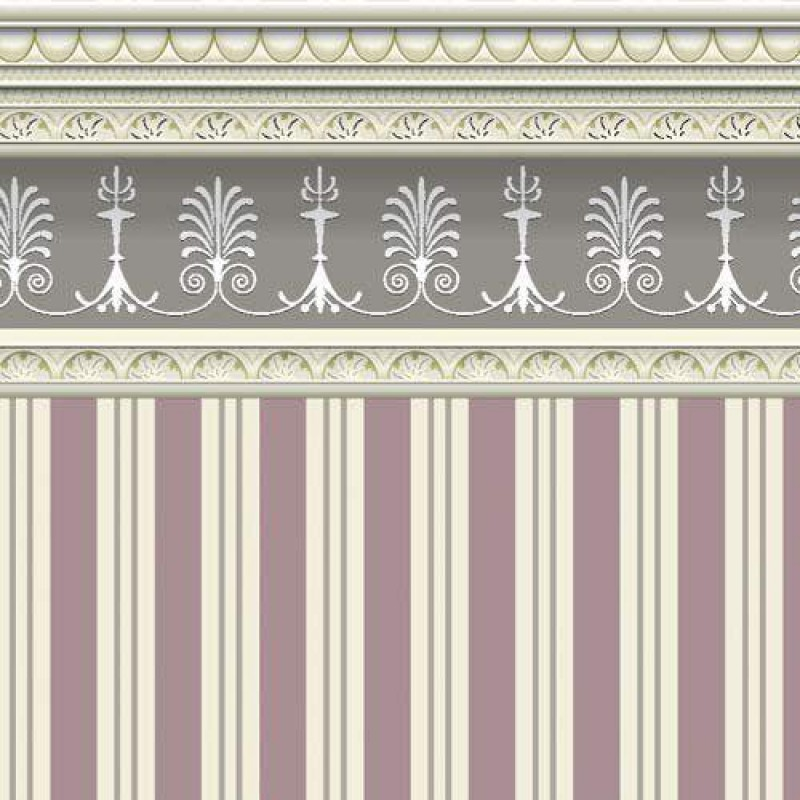 Heather Stripe Wallpaper 430 x 600mm