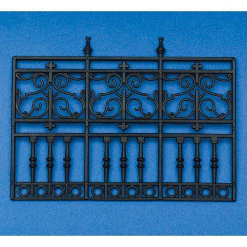 3-Panel Railing, Plastic 90 x 120mm