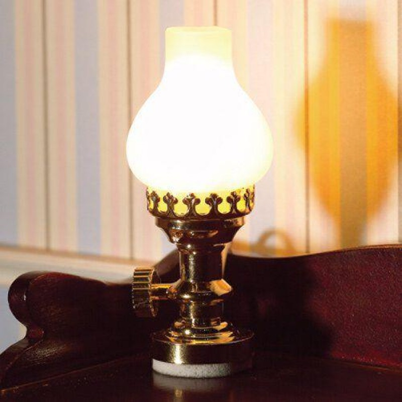 Table Lamp with Frosted Shade 40 x 20mm