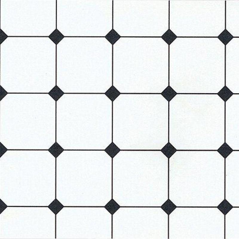 Black & White Tile Paper 430 x 600mm