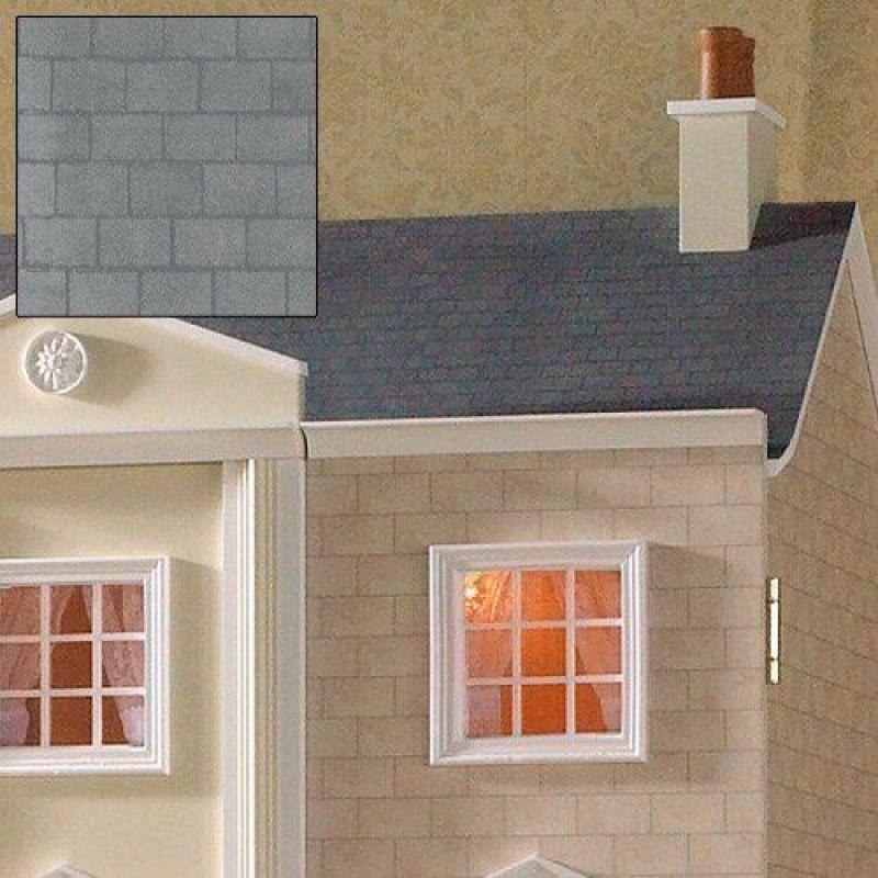 Grey Slate Roof Paper 430 x 600mm