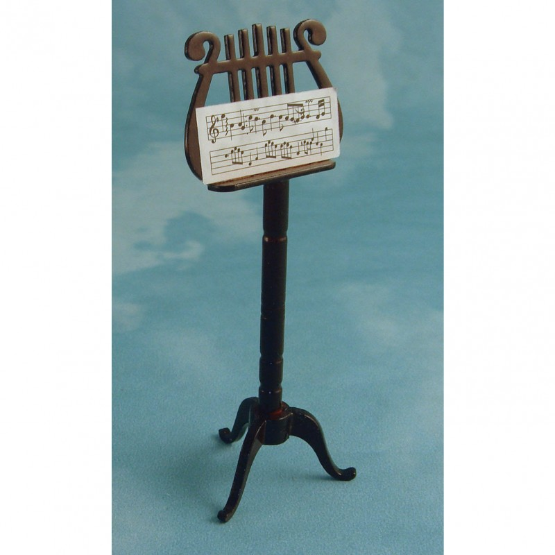 Ornate Wooden Music Stand