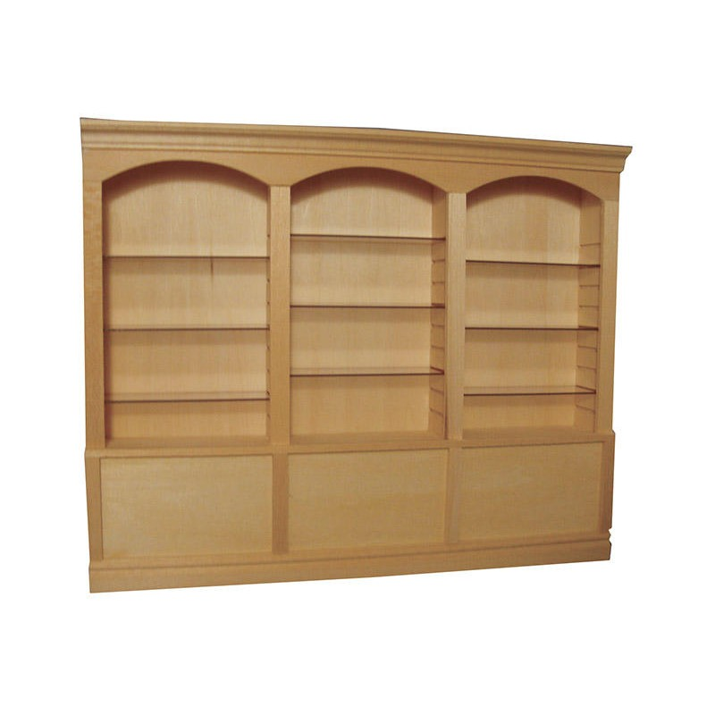 Deluxe triple shelves