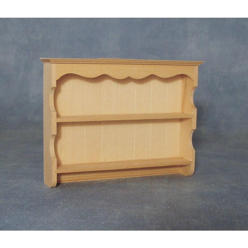 Dresser top shelves