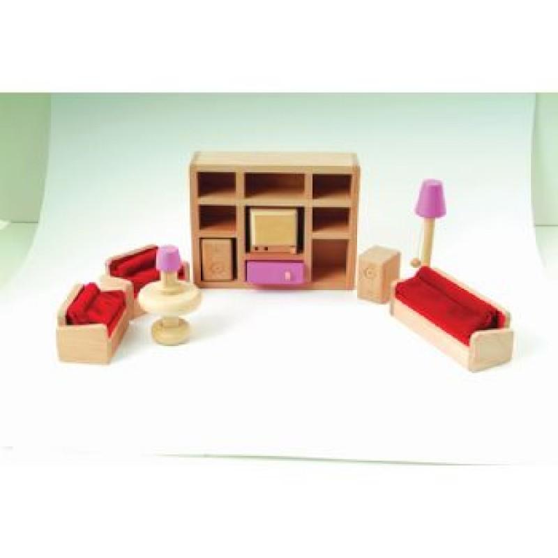 Pink Living Room Set