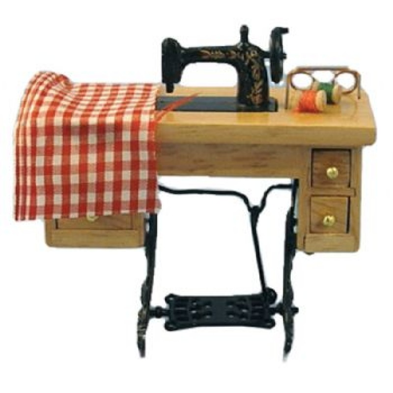 Sewing Machine on Table (Non Working)