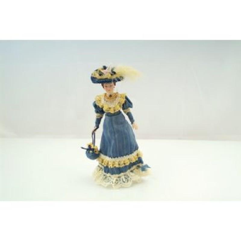Victorian Lady Blue