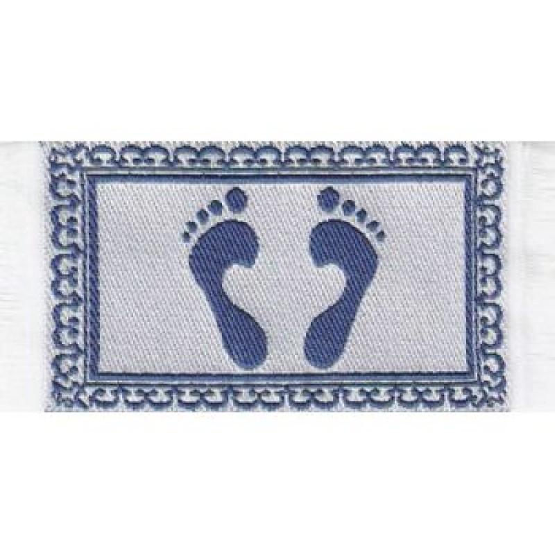 Footprint Bath Mat
