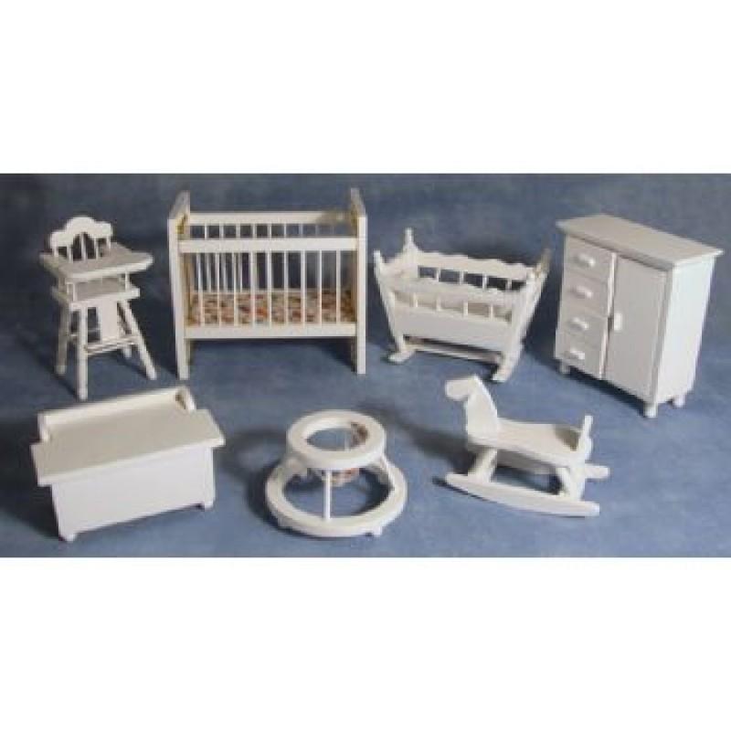 Nursery Set, 7 pieces