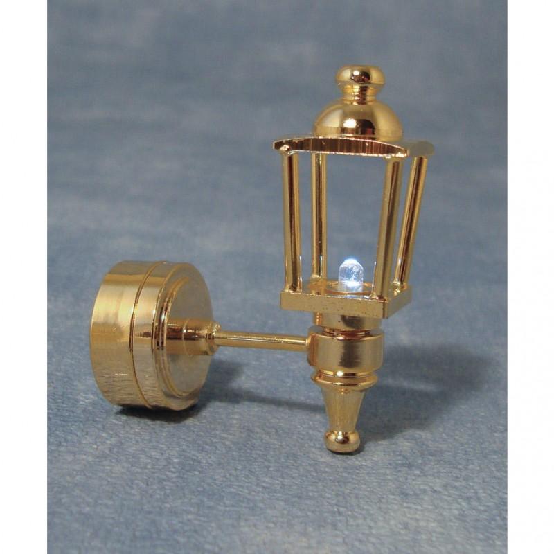 Gold LED Coach Lamp