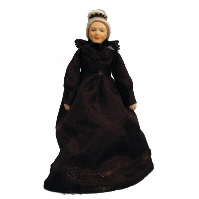Grandmother Doll in Black Dress