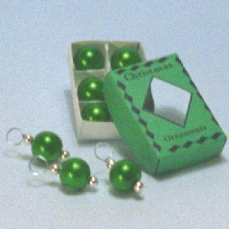 Green Christmas Decorations