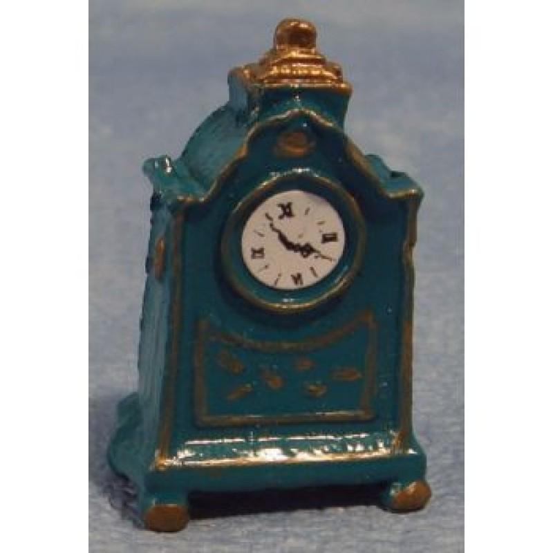 Blue Mantel Clock