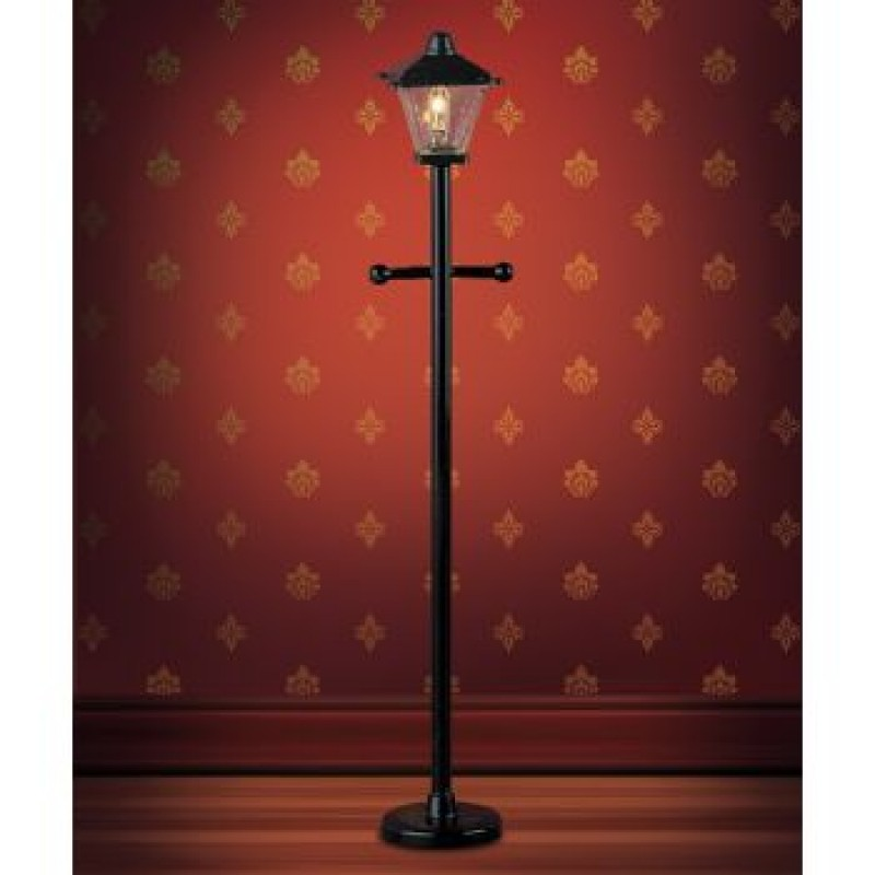 Plastic Black Post Lamp