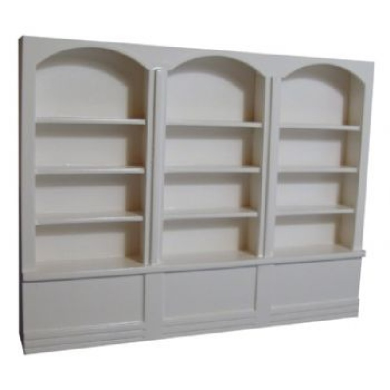 White Large Shop Shelves