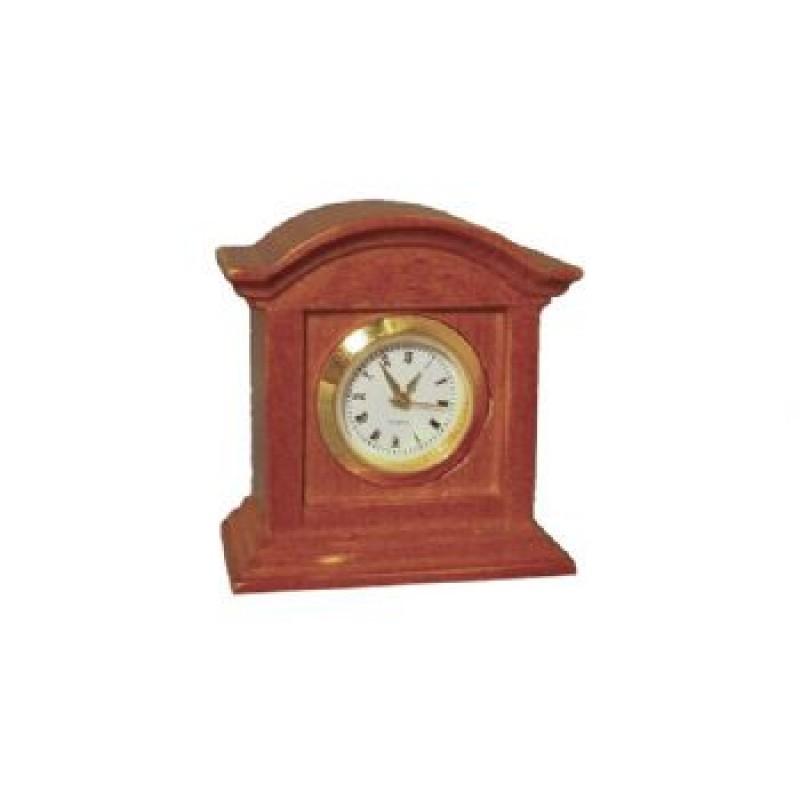Oak Working Mantle Clock
