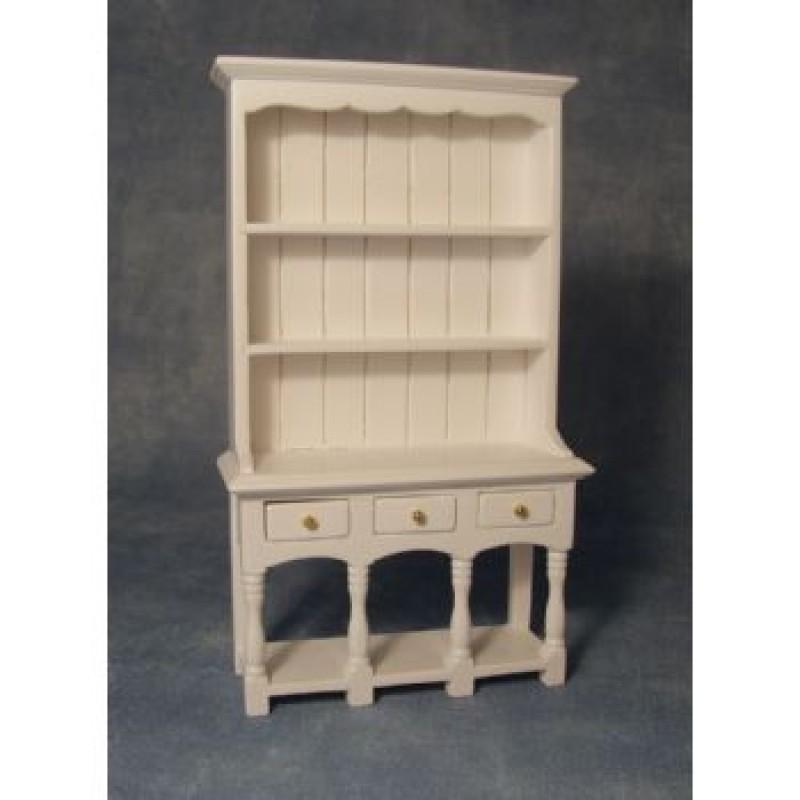 White 3 Drawer Dresser