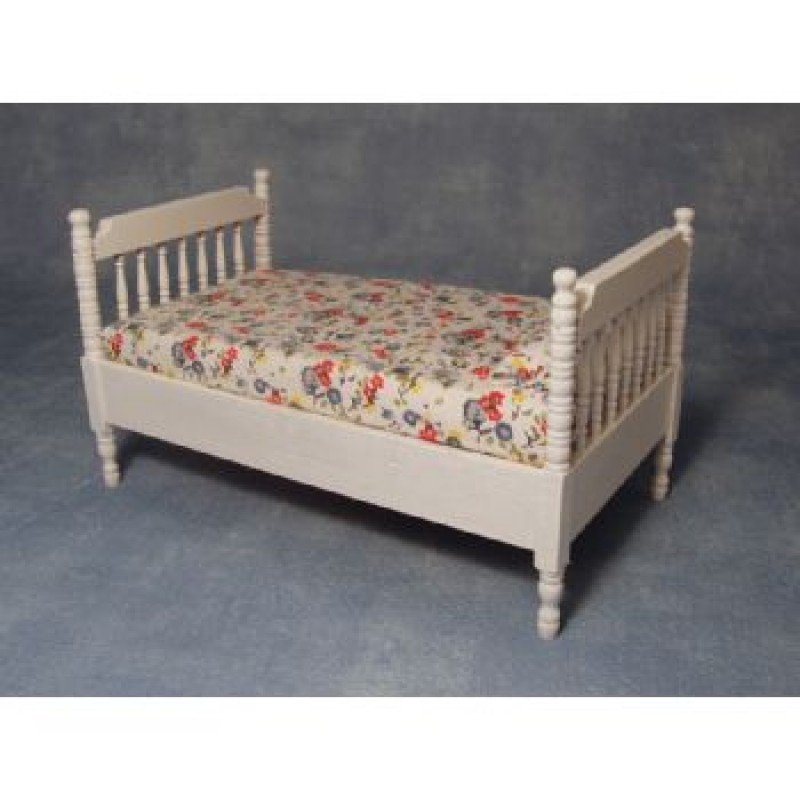 White Single Bed  ***SECONDS***