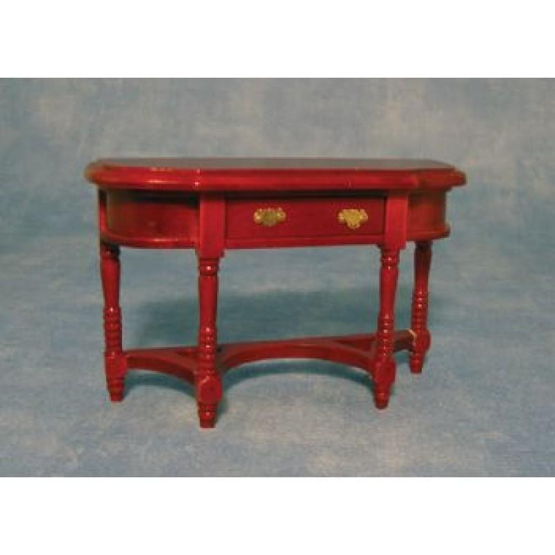 Mahogany Wall Table