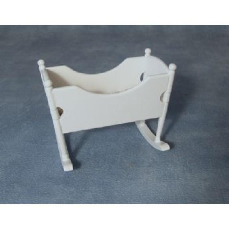 White Rocking Cradle