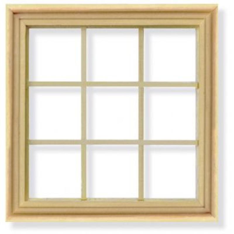 Georgian 9 Pane Window and Frame
