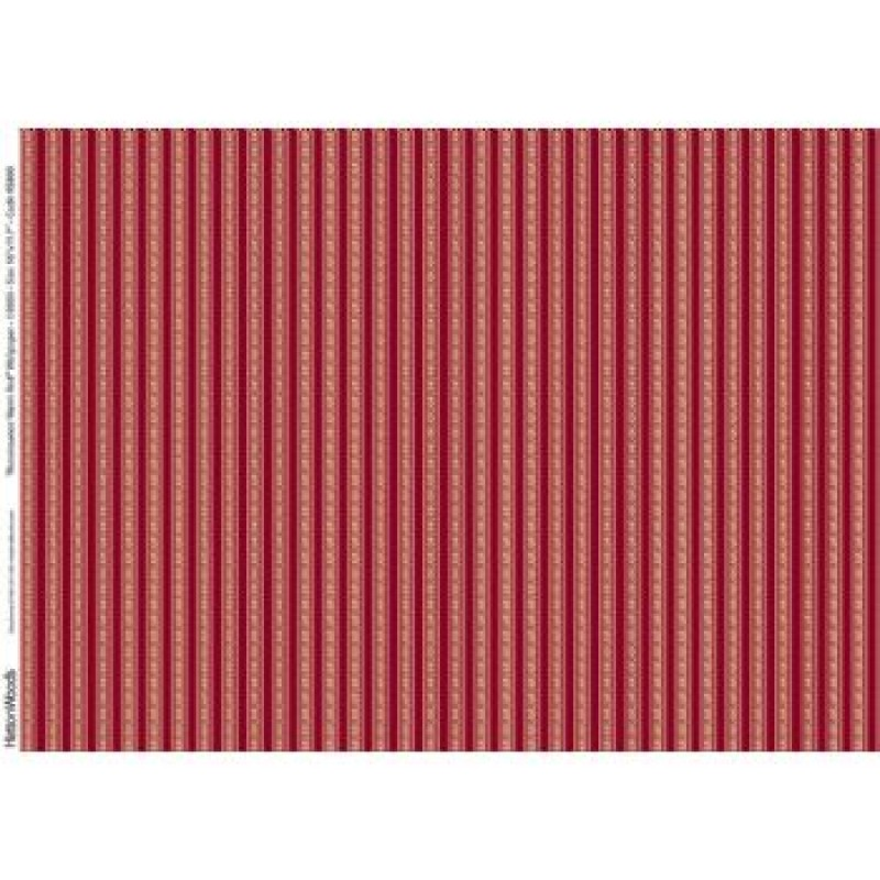 A3 Fine Qual Renaissance Warm Red Paper