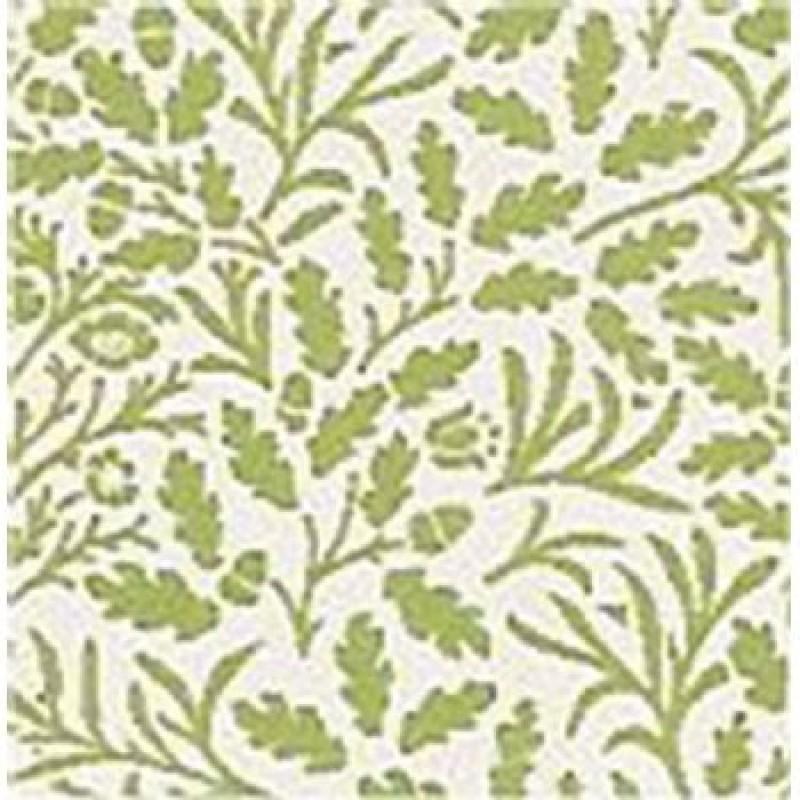 A3 Fine Qual Acorns Green On White Paper