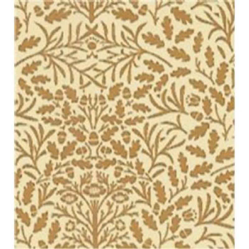 A3 Fine Qual Acorns Brown on Cream paper