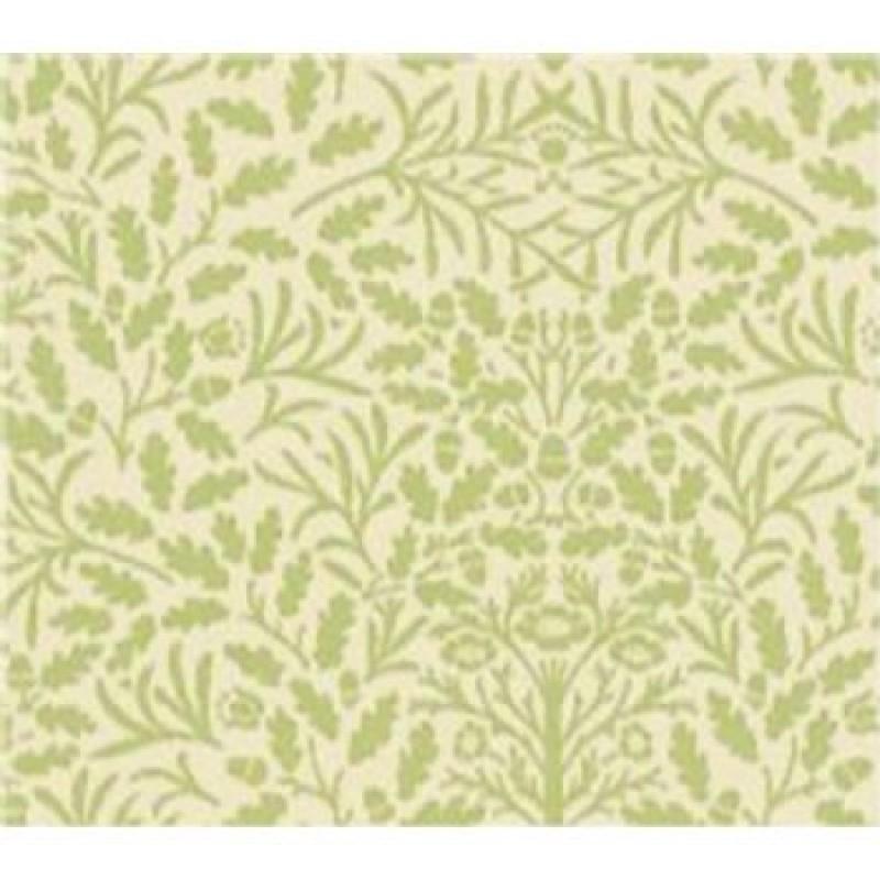A3 Fine Qual Acorns Green on Cream Paper