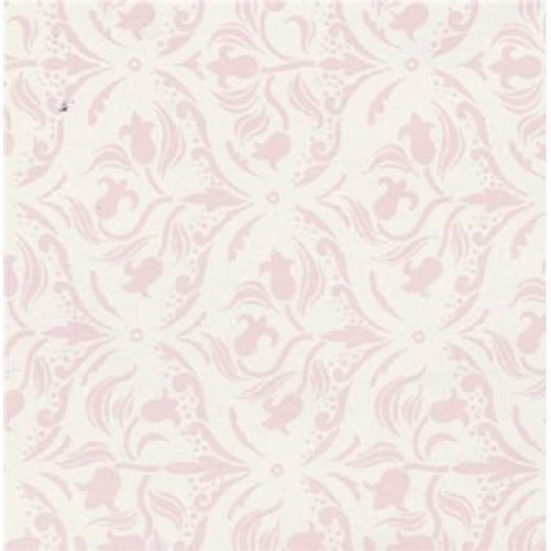 A3 Tulip Arabesque Pink/Cream Paper