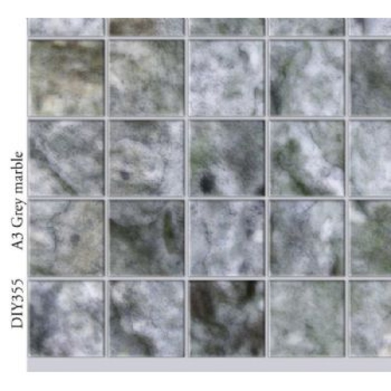 A3 Grey Marble Card