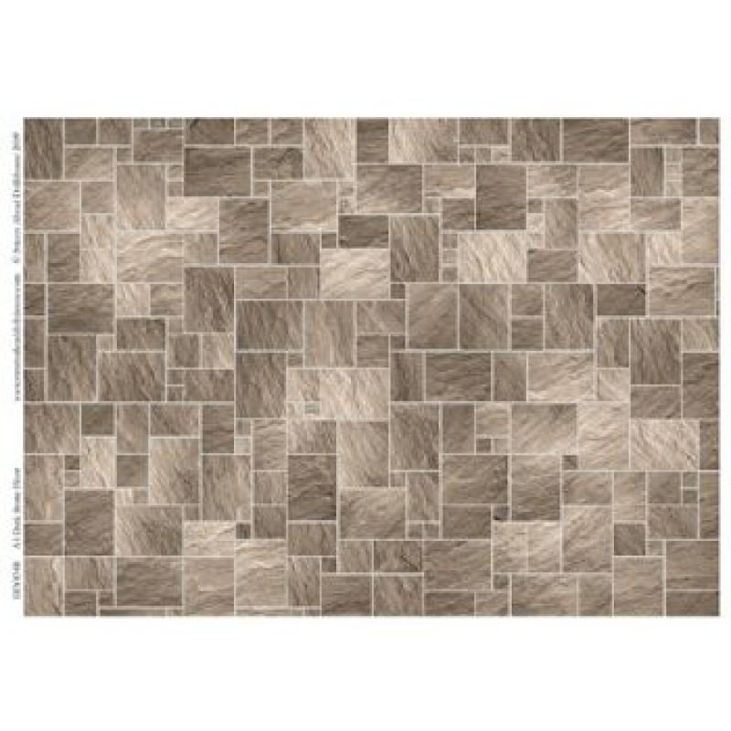A3 Dark Stone Floor Tiles